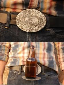 Bev Buckle Beer Belt Buckle